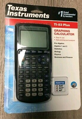 Texas Instruments TI-83 Plus Graphing Calculator (New, Free Shipping)