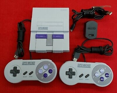 Nintendo SNES Classic Edition Mini Super Entertainment System - No Box