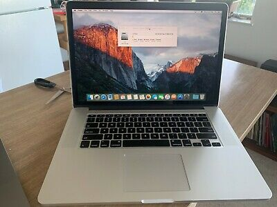 Apple MacBook Pro Retina, 15-inch, Mid 2015, 2.8GHz Intel Core i7 1TB Storage