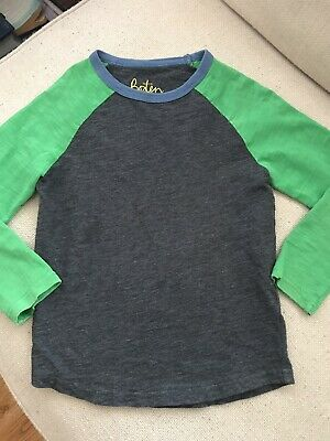 Mini Boden Boys Mixed Color Shirt 6-7 years