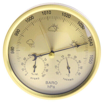 Barometer Thermometer Hygrometer Wall Mounted Household Weather Station A5C2
