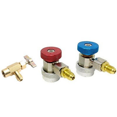 Automotive Quick Coupler Adapter Car R134A Can-Tap Set S9V8
