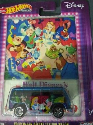 Hot Wheels VOLKSWAGEN DELUXE STATION WAGON ALICE IN WONDERLAND Pop Culture R/R