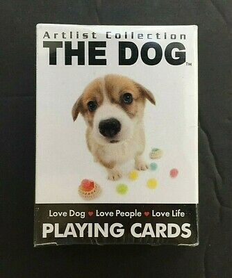 New The Dog Mini Playing Cards Deck by Bicycle