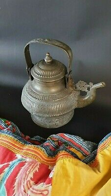 Old Nepal Bronze / Brass Kettle …beautiful collection & display piece