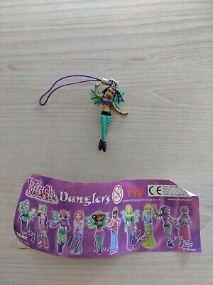 Witch W.i.t.c.h. Danglers Italian Comic Collectable Phone Charm