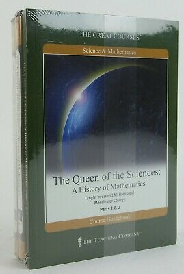 The Queen of the Sciences: A History of Mathematics NEW DVD / Book Set Bressoud