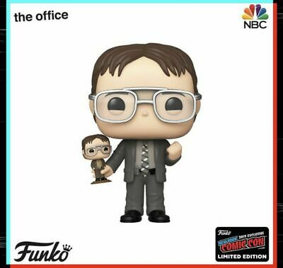 Funko Pop! Dwight Holding Dwight NYCC SHARED Exclusive THE OFFICE PRE ORDER
