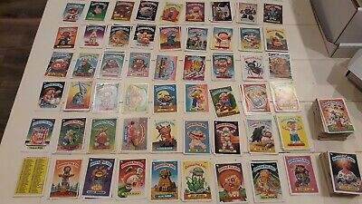 Huge lot 332 Garbage Pail Kids GPK 1980's Cards Series 3-8 1986-1987