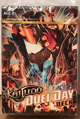 NEW KAIJUDO NATURE 2014 CIVILIZATION READY TO PLAY 40 CARD DECK /& QUICK START!