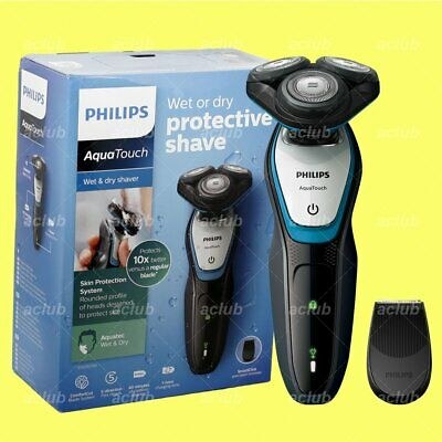 Philips S5070 AquaTouch Wet and Dry Rechargeable Electric Men Rotary Shaver