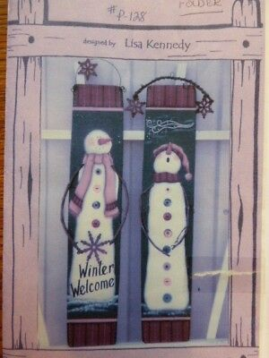 "Craft Wood Pattern "" Winter Welcome"""