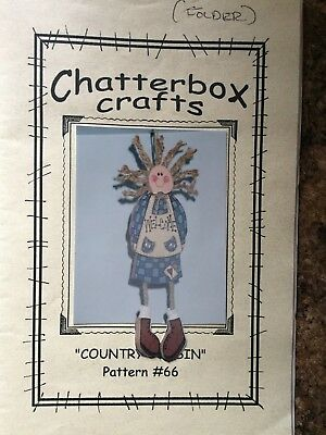 "Wood craft Pattern ""Country cousin"