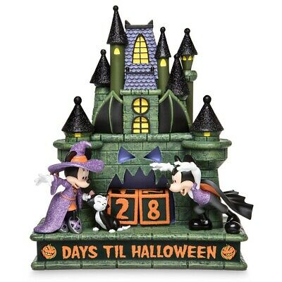 Disney Parks Happy Halloween Mickey and Minnie Countdown Calendar New with Box