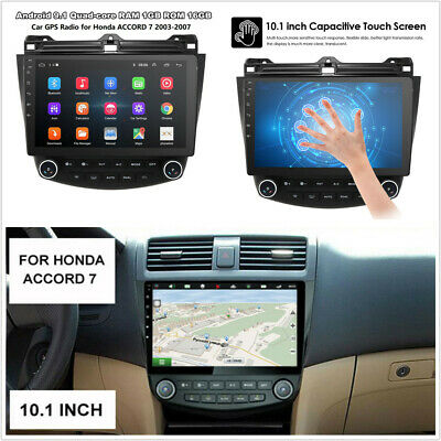 For Honda Accord 03-07 10.1'' Android 9.1 Quad-Core Car Stereo Radio GPS Player