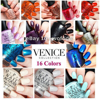 OPI V25 -V39 Lacquer Nail Polish Venice Collection Hot  Series Sealed New
