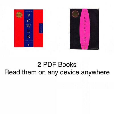 The 48 Laws of Power & The Art of Seduction by Robert Greene *PDF