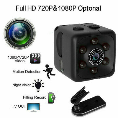 SQ11 1080P HD USB Mini Camera Cam DVR Security Video Recording Motion Detection