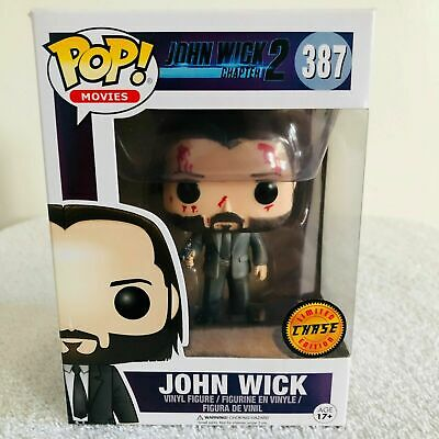 Funko Pop! Movies #387: John Wick Chapter 2 Bloody Chase with Protector New 2019