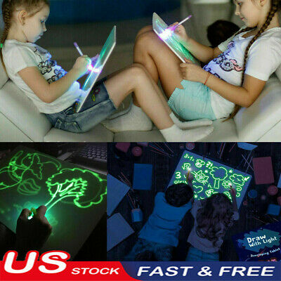 Draw With Light Fun And Developing Toy Drawing Board Magic Draw Educational USA