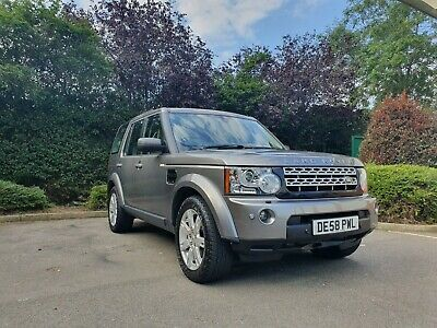 Low Miles Grey Land Rover Discovery 3 Se Facelift 4 2.7L Tdv6 D 2008 Automatic
