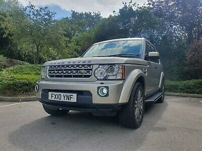 Immaculate Land Rover Discovery 4 Xs 3.0L Tdv6 Diesel Light Gold 2010 99K Miles