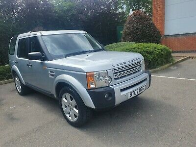 Clean Land Rover Discovery 3 Hse 2.7L Tdv6 2007 Silver Fully Serviced!