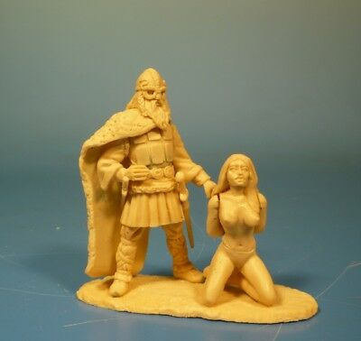 Lineol -Wikinger / Vikings - 75mm Figur Bausatz - Resin Kit 1:24