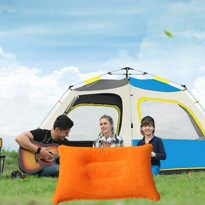 Hot Portable Ultralight Inflatable Air Pillow Cushion Rest Hiking Travel Us A5I3