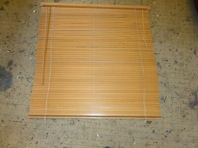 "Beautiful Natural Solid Beech Wood  48"" Wide by 48"" Drop Venetian Blind"