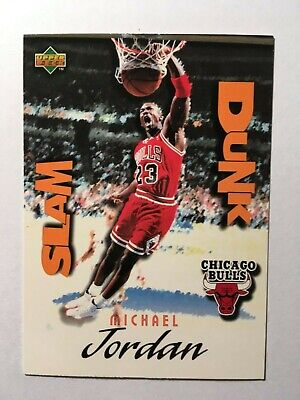 "Michael Jordan - 1997 Upper Deck ""Slam Dunk"" #Sd 22/40 Insert-Subset - Bulls"