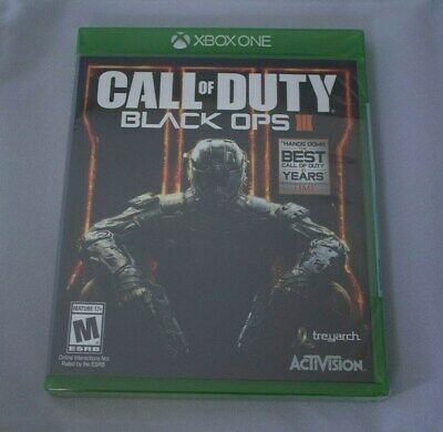 Call Of Duty Black Ops 3 III Xbox One Game NEW Sealed