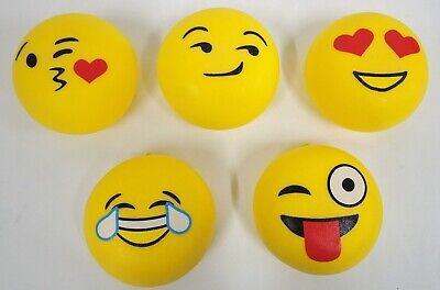 EMOJI HEMISPHERICAL STRESS BALL Large10cm Small 7cm