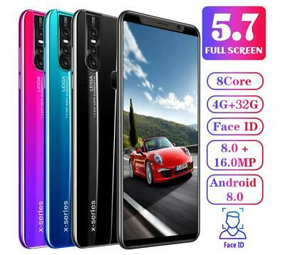 X27/X27 Plus Unlocked Smart Phone 5.0/5.7'' Android 8.0 HD Dual SIM Mobile