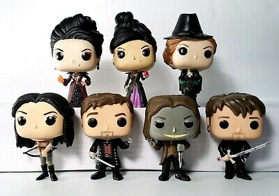 Funko Pop Once Upon A Time Lot of 7 Vinly Figures Vaulted
