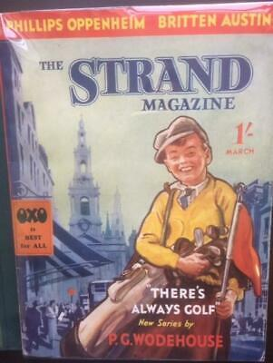 The Strand Magazine March 1936 P G Wodehouse There's Always Golf ,  in slip case