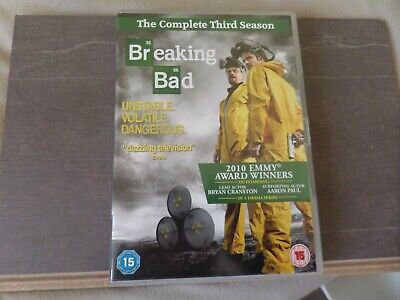Breaking Bad- The Complete Third Series (2012) - 4 Disc Box Set