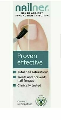 Nailner Brush Nail Fungal Treatment Proven Effective   New Free P&P