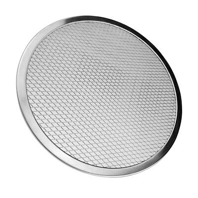 9inch Pizza Screen Aluminium Seamless Rim Pizza Mesh Round Tray Oven Baking