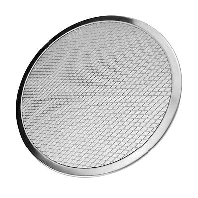 Nonstick Round Mesh Pizza Screen Baking Tray Bakeware Cook Pizza Net 12 inch