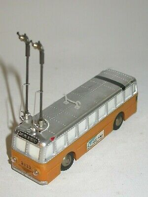 Silvine / Sakai made in Japan. Trolley bus from the 50s