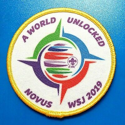 24th 2019 WORLD SCOUT JAMBOREE OFFICIAL WSJ NOVUA  STAFF BADGE PATCH