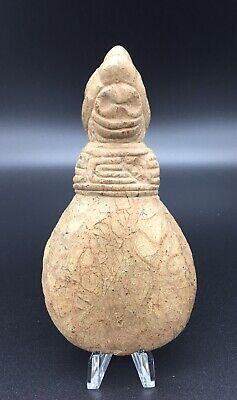 Pre Columbian Taino Zemi Cemi Shamans Brown Stone Chopping Tool