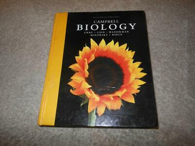 Campbell 11Th Edition Biology Hardcover Book Uury Cain Reece Pearson Usa 2017