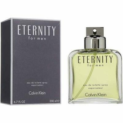 Eternity by Calvin Klein Cologne for Men  6.7 oz EDT Spray New in Box