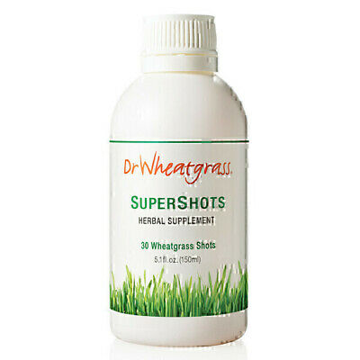 Dr Wheatgrass Super Shots Juice 150ml | Concentrated Potent Natural Drink