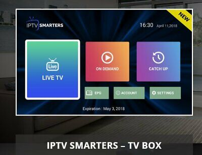 1 YEAR IPTV subscription infomir mag 250 /254 /322/256 STB