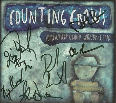 Somewhere Under Wonderland [Digipak] * by Counting Crows (CD, Sep-2014) Signed