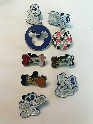 9 Disney Themed Pins Lot 63