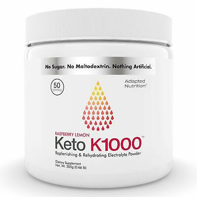 Keto K1000 Electrolyte Powder | Boost Energy & Beat Leg Cramps | No Maltodextr..